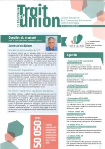 Trait d'union n°6 - septembre 2017