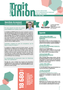 Trait d'union n°8 - mars 2018