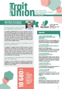 Trait d'union n°8 - mars 2018